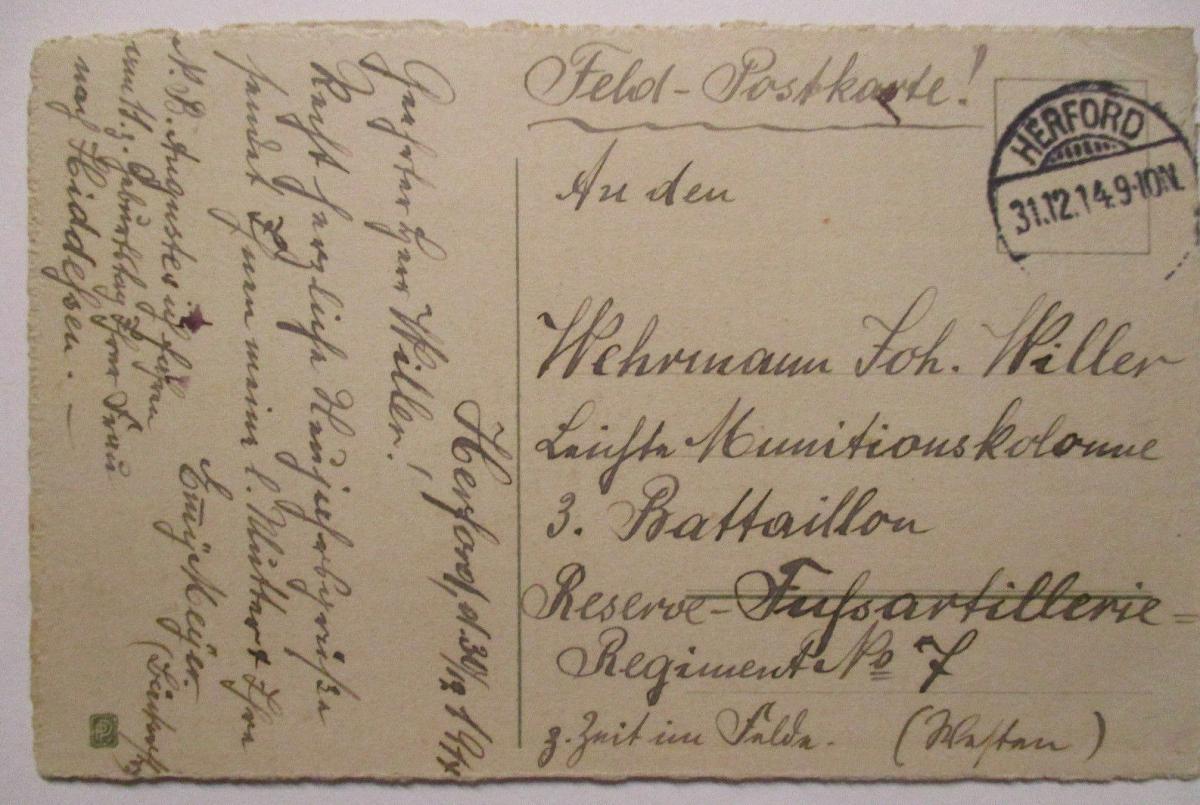 Ein hoch dem Deutschen Reich, Neujahr Patriotik 1914 (30917) 1