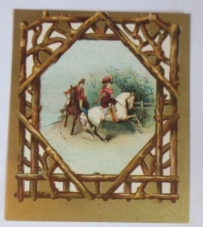 Kaufmannsbilder, Pferde, Frauen, Mode, H. Fraiture Chocolat   1900  ♥ 0