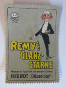 Vignetten Schuh Creme Remy´s Glanz Stärke Heerdt Düsseldorf  1900 ♥ (66082)