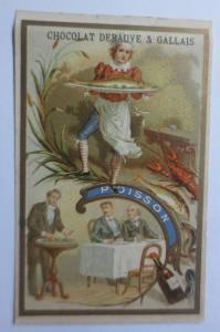 Kaufmannsbilder, Chocolat  Debauve & Gallais, Poisson, 1889 ♥