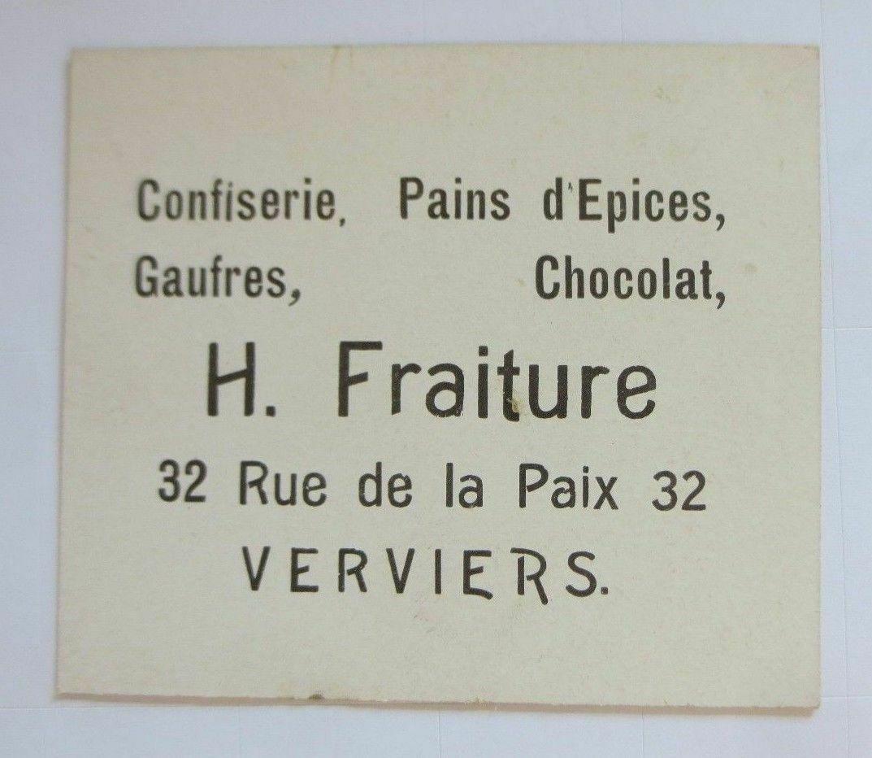 Kaufmannsbilder, Pferde, Frauen, Mode, H. Fraiture Chocolat   1900  ♥ 1
