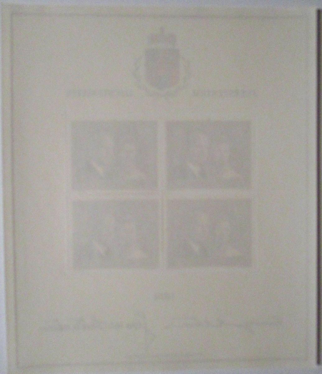 Liechtenstein Nr. 614 Kleinbogen 1974 postfrisch  (1767) 1