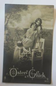 Ostern, Frauen, Mode, Eier, Taube, Blumen,   1920  ♥ (71307)