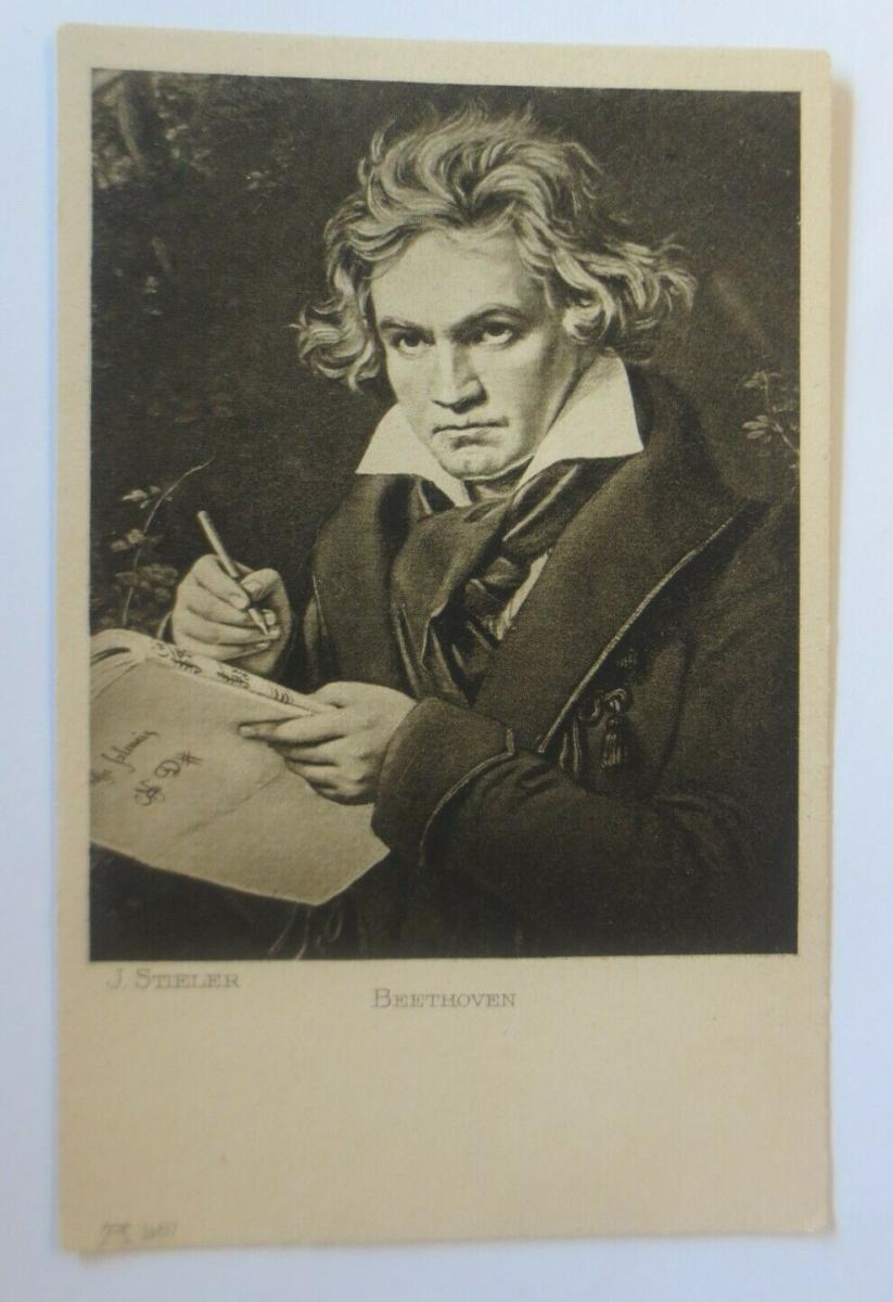 Beethoven,   1910, J. Stieler  ♥ (66851) 0