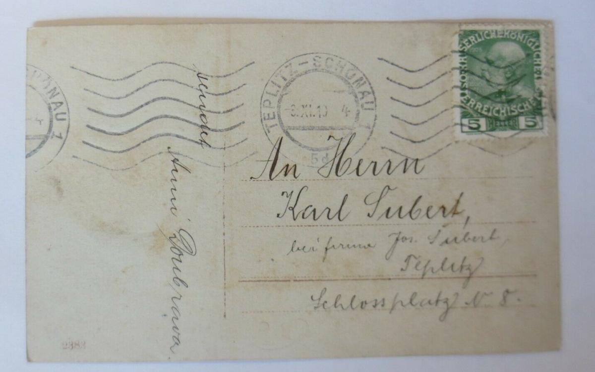 Namenstag, Frauen, Mode, Blumen, Hut,  1910  ♥ (61181) 1
