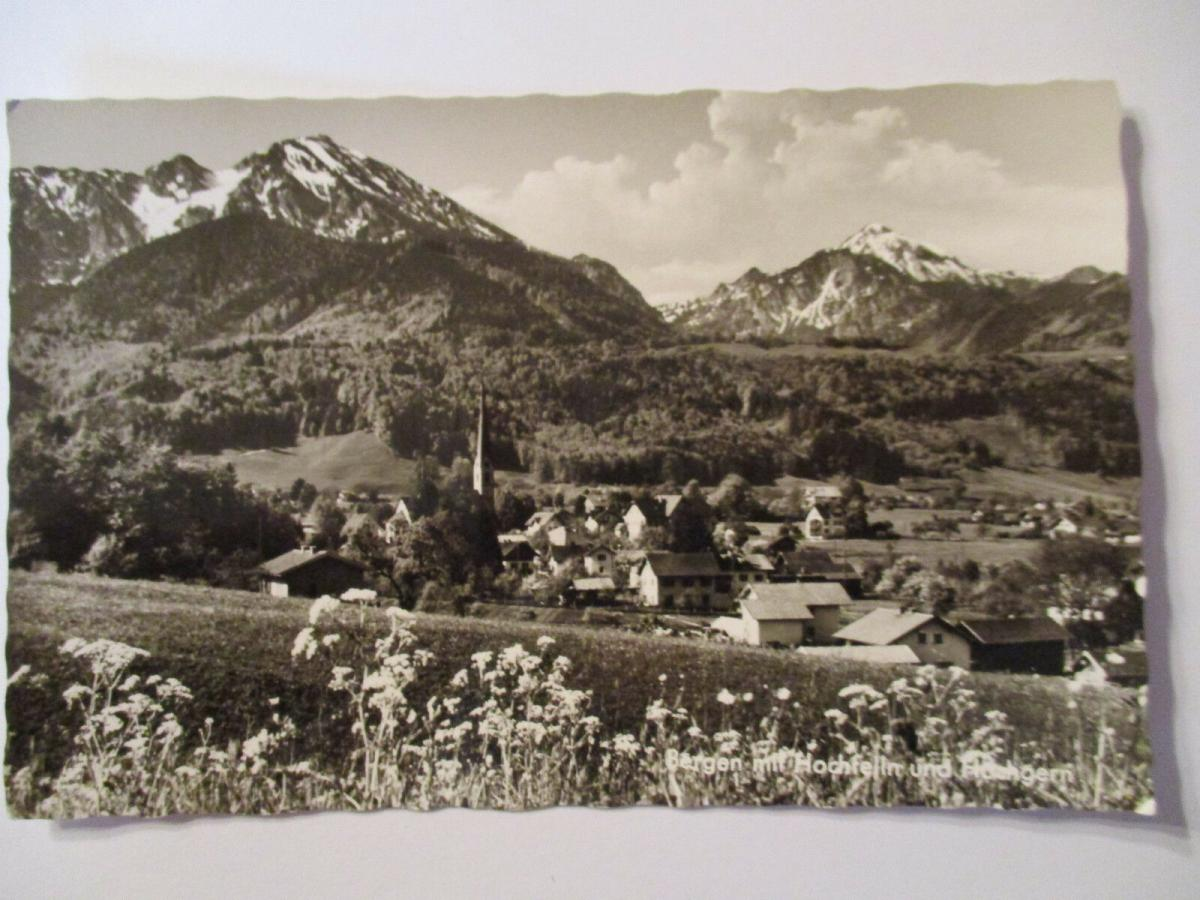 Bergen mit Hochfelln und Hochgern, Fotokarte (36270) 0