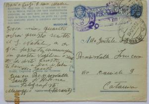 Italien Feldpost WW 2, 1942 mit Zensur aus Maruggio (41437)