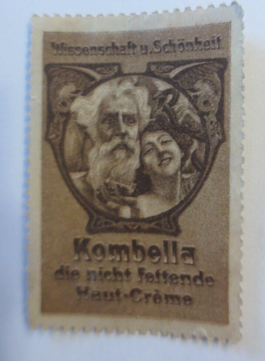 Vignetten Wissenschaft u. Schönheit Kombella Haut Creme  1900 ♥ (22695) 0