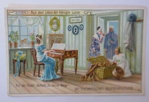 Kaufmannsbilder, Dr. Thompson´s Seifenpulver, Aus dem Leben der Königin ♥
