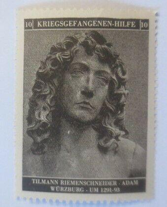 Vignetten Deutschland Kriegsgefangenen-Hilfe, Tillmann Riemenschneider ♥ (55786) 0