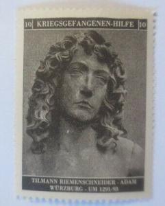 Vignetten Deutschland Kriegsgefangenen-Hilfe, Tillmann Riemenschneider ♥ (55786)