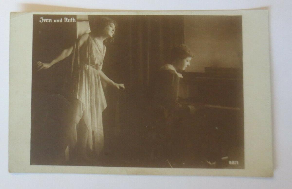 Schauspieler, Theater, Musik, Iven und Ruth,  1908  ♥ (66850) 0