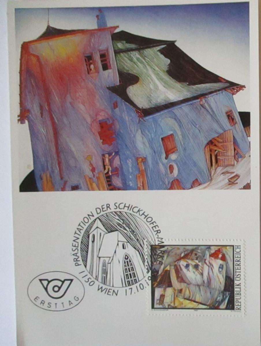 Kunst Helmut Schickhofer, Haus ohne Zweifel 1997 (71639) 0