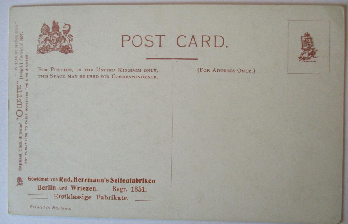 Meer, Strand, Baden, Tuck´s Oilette ca. 1910 (50217) 1