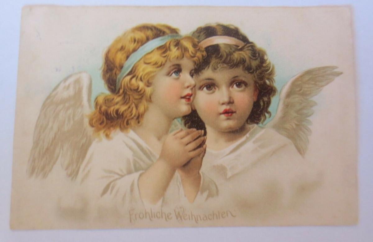 Weihnachten, Engel, Beten,  1907 ♥  (51238) 0