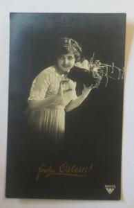 Ostern, Frauen, Mode, Nest, Eier,  1917 ♥ (34799)