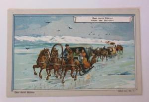 Kaufmannsbilder, Quer durch Sibirien, Serie 445, Nr.7 ♥