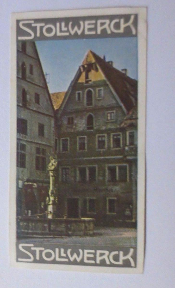 Stollwerck, Gruppe 326,  Nr.3,   Album  Nr.7,  Alte Städte  ♥ 0