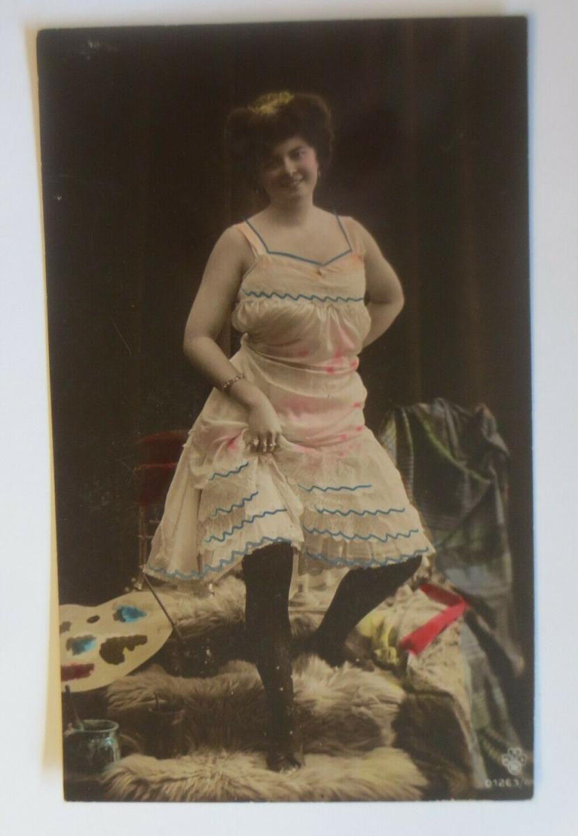 Frauen, Mode, Fell, Farben,  1910 ♥ (32189) 0