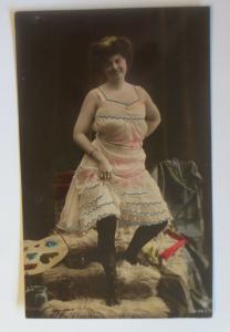 Frauen, Mode, Fell, Farben,  1910 ♥ (32189)