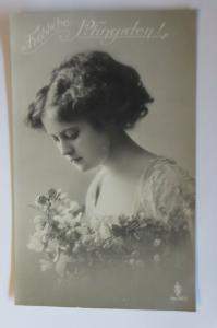 Pfingsten, Frauen, Mode, Blumen,   1911  ♥ (22246)