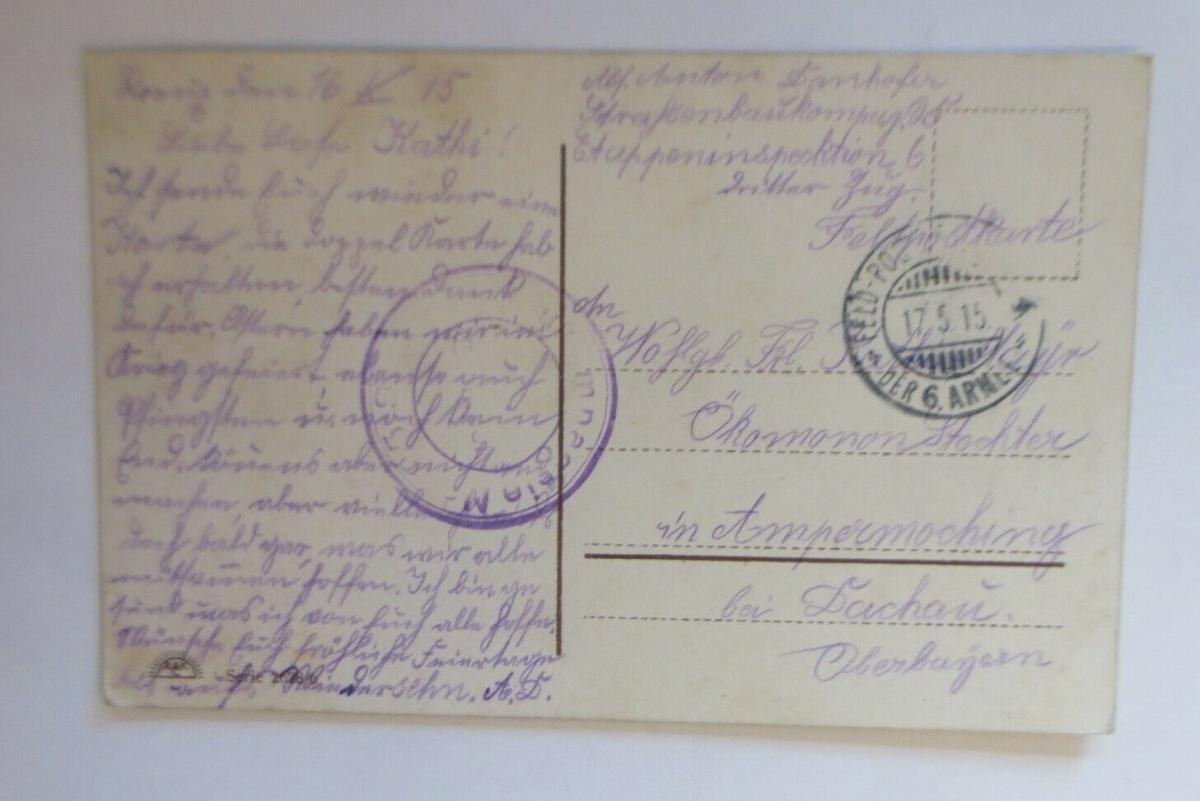 Pfingsten, Frauen, Kinder, Mode,    1915  ♥ (23859) 1