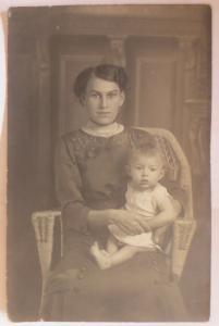 Frauen, Mode, Kinder, Stuhl, 1905, Fotokarte Leopold Schönberger  ♥ (59594)