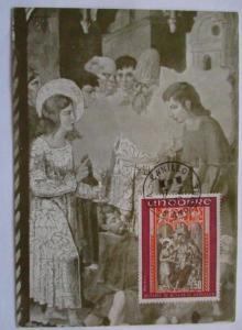 Andorra, Maximumkarte Saint Jean 1977 (52653)