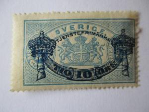 Schweden, Portomarken Nr. 12 und 13 von 1889 ungebraucht