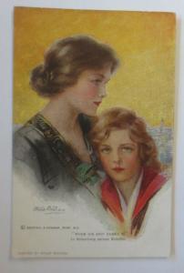 Künstlerkarte, In Erwartung seines Schiffes, Reinthal & Newman, 1920 ♥ (22680)