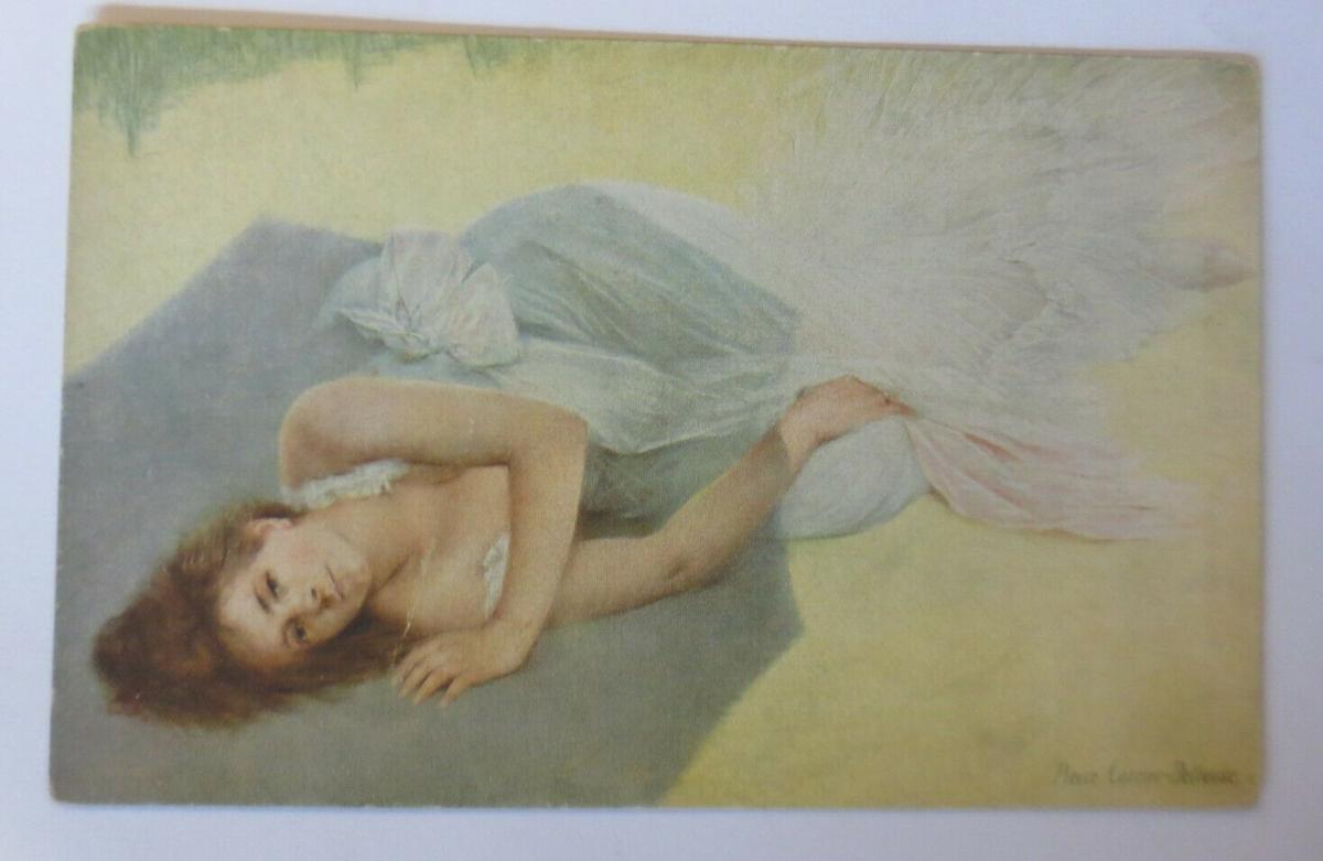 Künstlerkarte, Frauen, Mode, Erotik, 1921, Pierre Carrier-Belleuse  ♥ (14943) 0