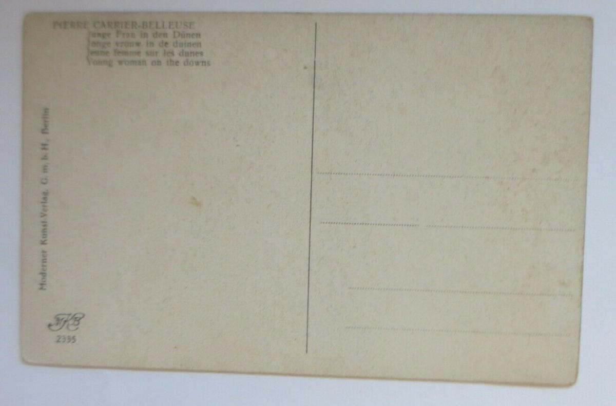 Künstlerkarte, Frauen, Mode, Erotik, 1921, Pierre Carrier-Belleuse  ♥ (14943) 1