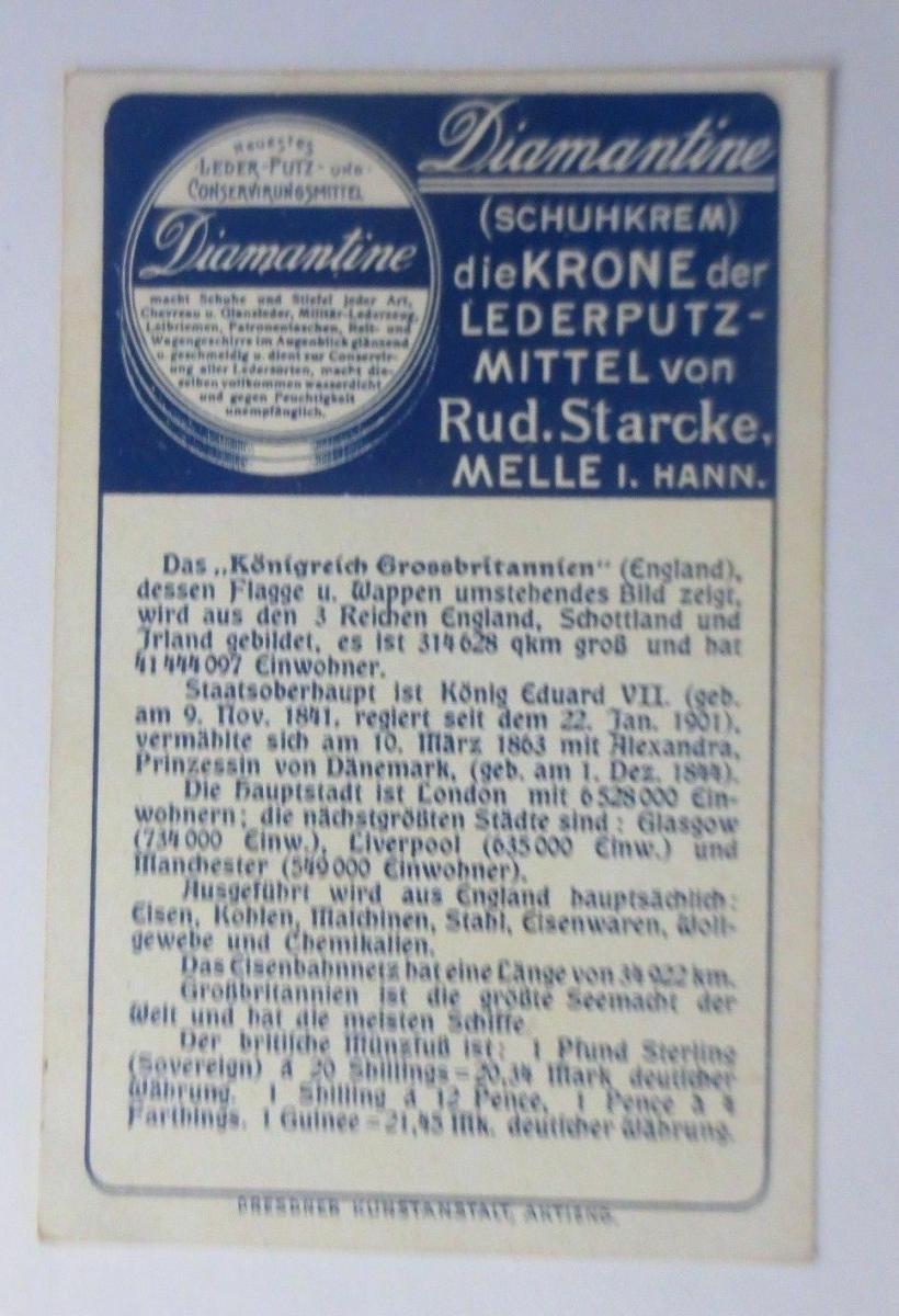 Kaufmannsbilder, Diamantine Schuhkrem,Großbritannien, Serie 5353, Nr.4 ♥ 1