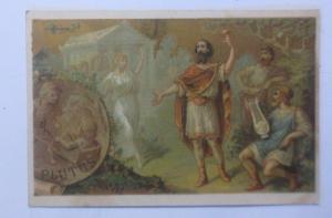 Kaufmannsbilder, E. Maux Fils, Parfumerie, Plutus, 1900, Frankreich ♥