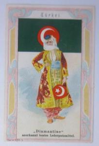 Kaufmannsbilder, Diamantine Schuhkrem, Türkei, Serie 5358, Nr.5 ♥