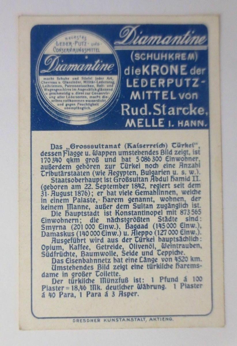 Kaufmannsbilder, Diamantine Schuhkrem, Türkei, Serie 5358, Nr.5 ♥ 1