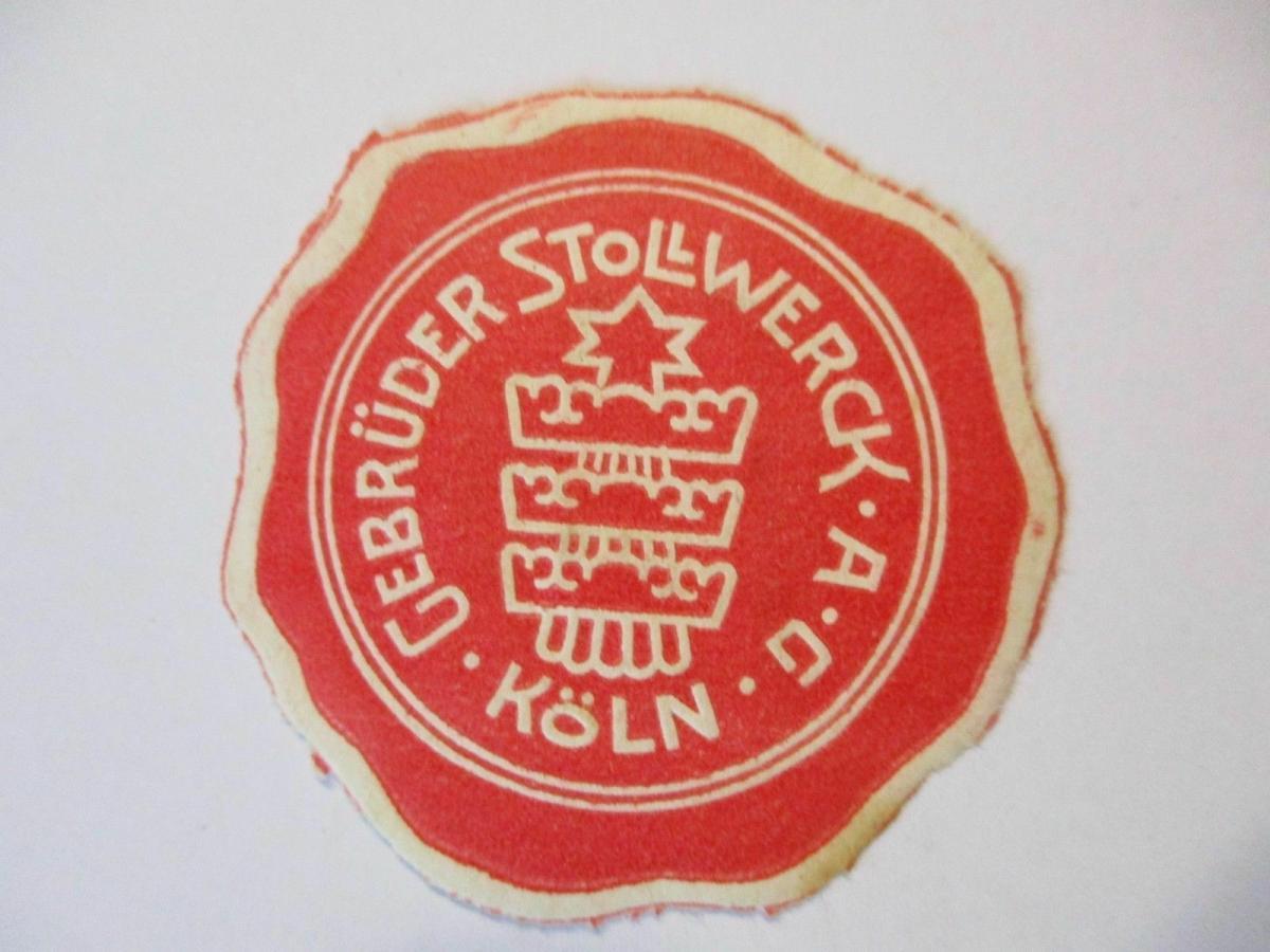 D.Reich, Verschlußmarke Stollwerck Köln (49492) 0