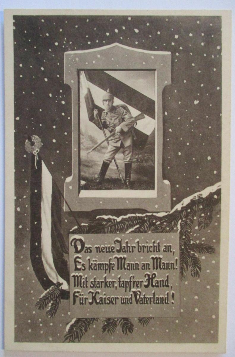 Das neue Jahr bricht an, Für Kaiser und Vaterland, Patriotik (60188) 0
