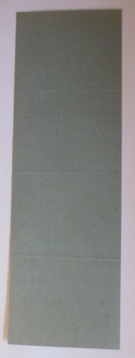 Lebensmittelkarten, Stadt Kempten Fleisch, Wurst, Juli-August 1919 ♥ (X155) 1