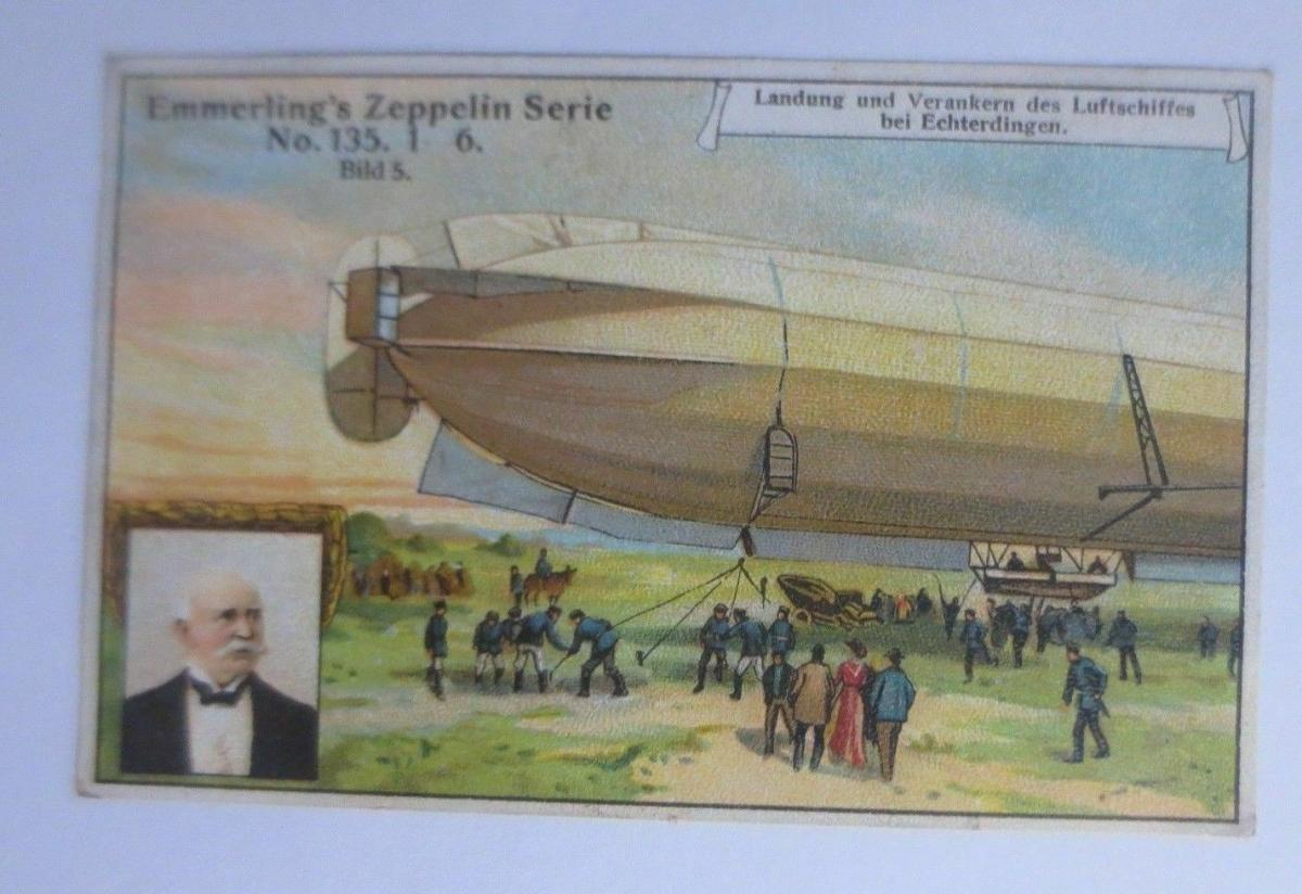 Kaufmannsbilder, Emmerlings Nähr-Zwieback, Zeppelin Nr.135 Bild 5 ♥ 0