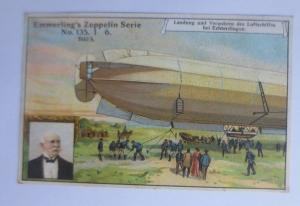 Kaufmannsbilder, Emmerlings Nähr-Zwieback, Zeppelin Nr.135 Bild 5 ♥