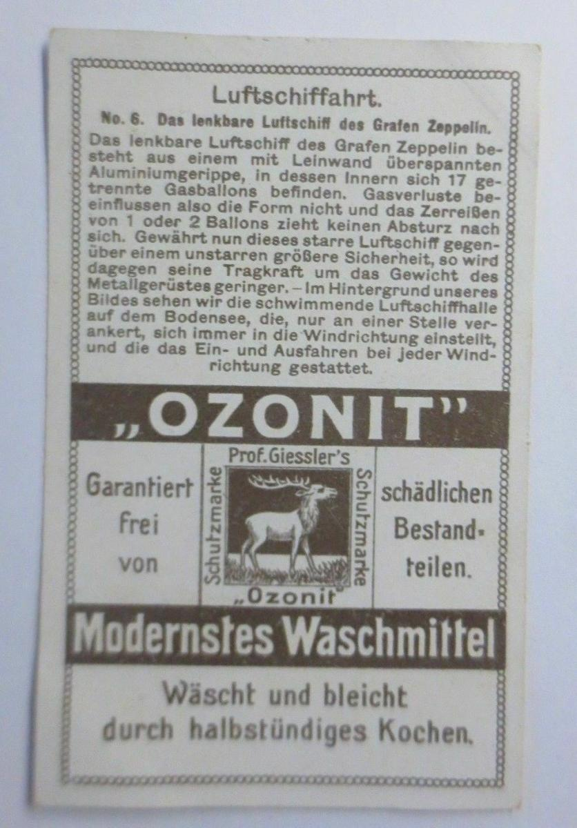 Kaufmannsbilder, Emmerlings Nähr-Zwieback, Zeppelin Nr.135 Bild 5 ♥ 1