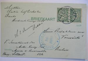 Niederlande Zensurkarte 1915