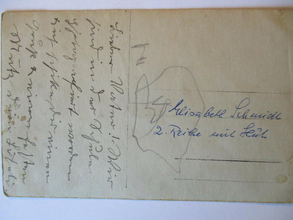 Ordensschwester, Kinder, Schulklasse, Fotokarte ca. 1900 (42824) 1