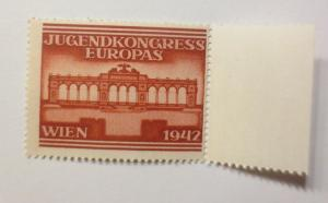 Vignetten, Jugendkongress Europas Wien  1942, Österreich ♥ (42261)