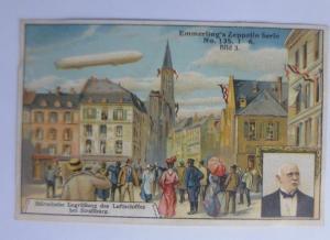Kaufmannsbilder, Emmerlings Nähr-Zwieback, Zeppelin Nr.135 Bild 3 ♥