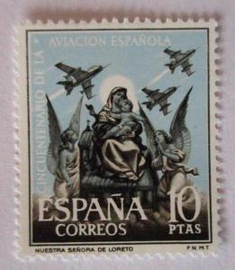 Spanien, Nr. 1296-1300, Luftfahrt, postfrisch