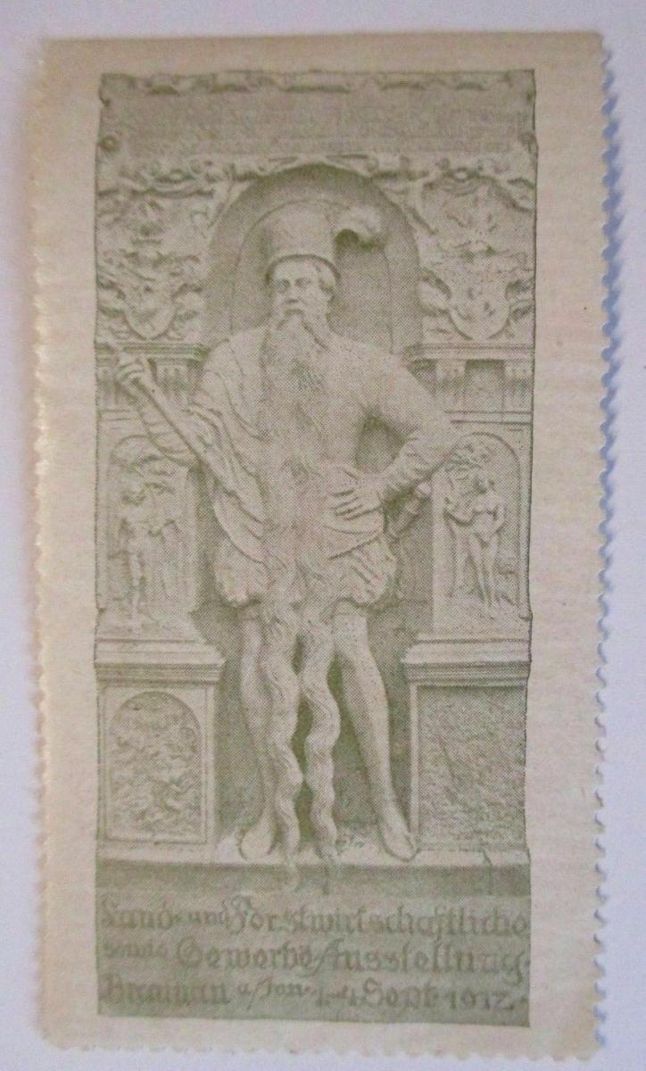 D.Reich, Land - und Forstwirtschaft. Gewerbeausstellung Braunau 1917 (49489) 0