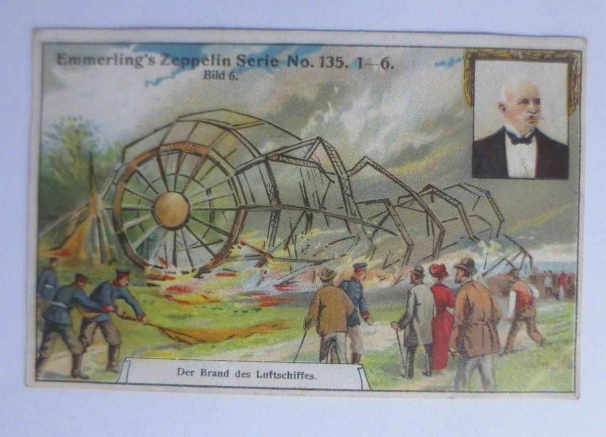 Kaufmannsbilder, Emmerlings Nähr-Zwieback, Zeppelin Nr.135 Bild 6 ♥ 0