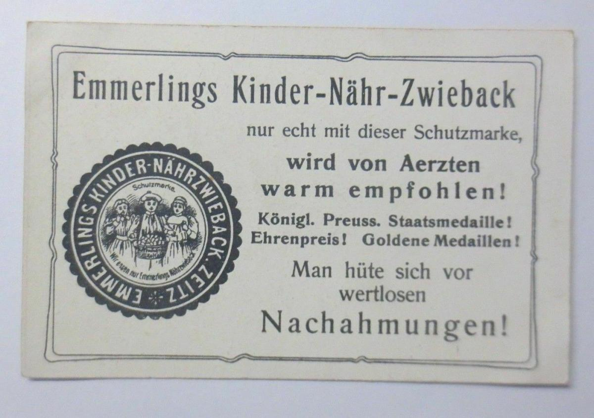 Kaufmannsbilder, Emmerlings Nähr-Zwieback, Zeppelin Nr.135 Bild 6 ♥ 1